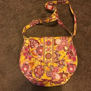 Handbags - Vera Bradley saddle bag